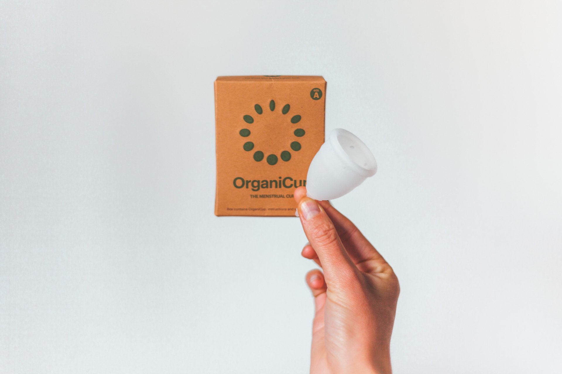OrganiCup Mentrual Cup Travel Essentials