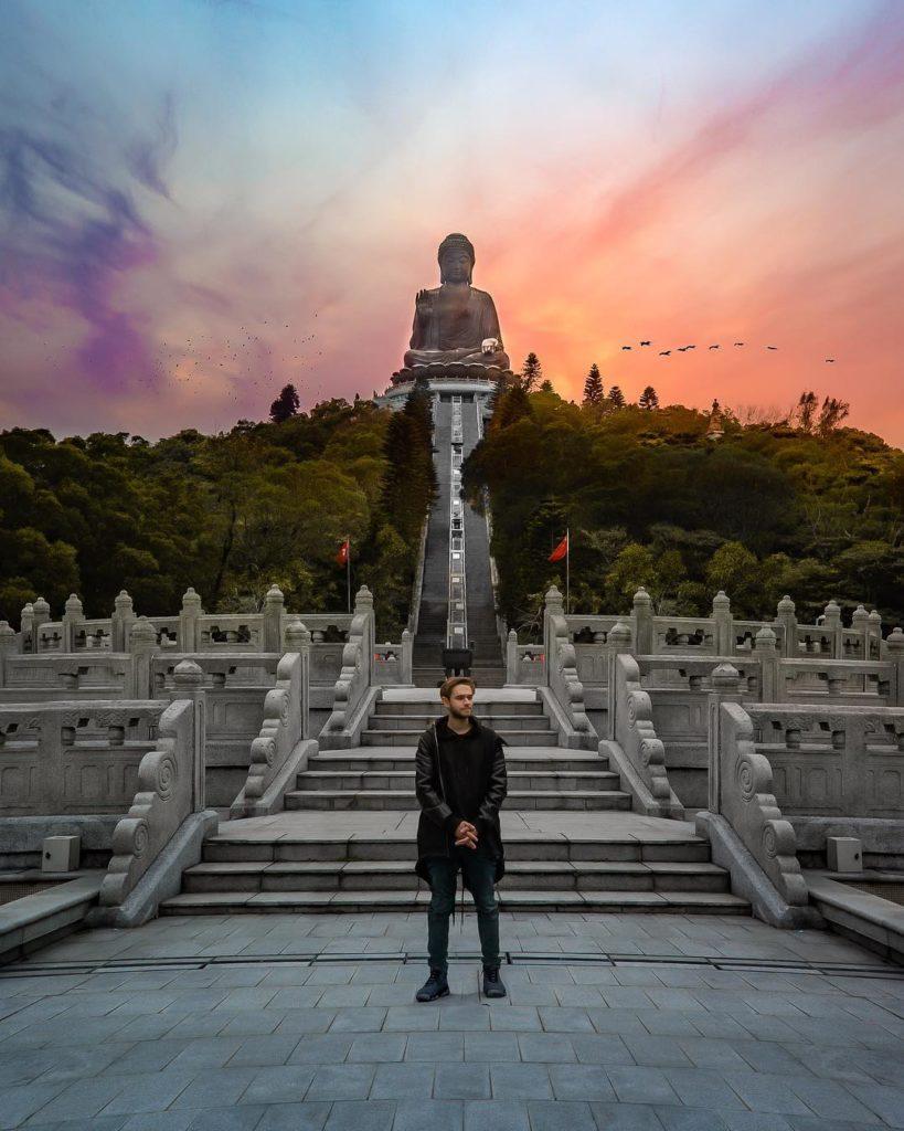 Tian Tan Big Buddha, Hong Kong by David Paul