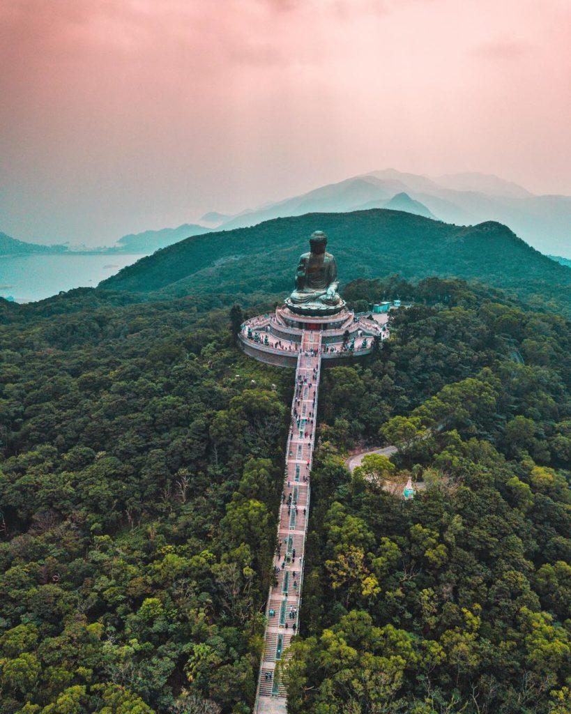 Tian Tan Big Buddha, Hong Kong by Jason Cooper