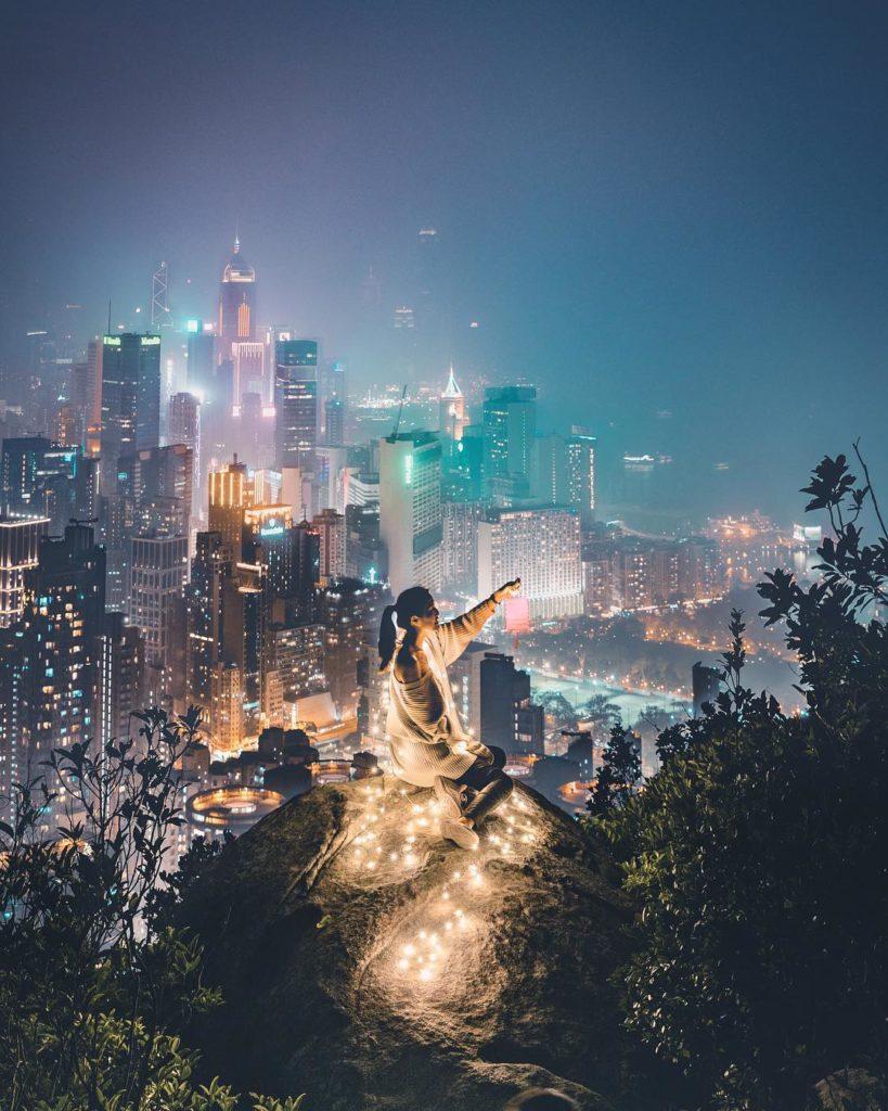 Victoria Peak, Instagram Hong Kong Sam is Home