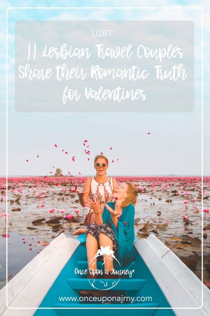 Once Upon A Journey Roxanne and Maartje a Lesbian travel couple on the red  lotus lake ...