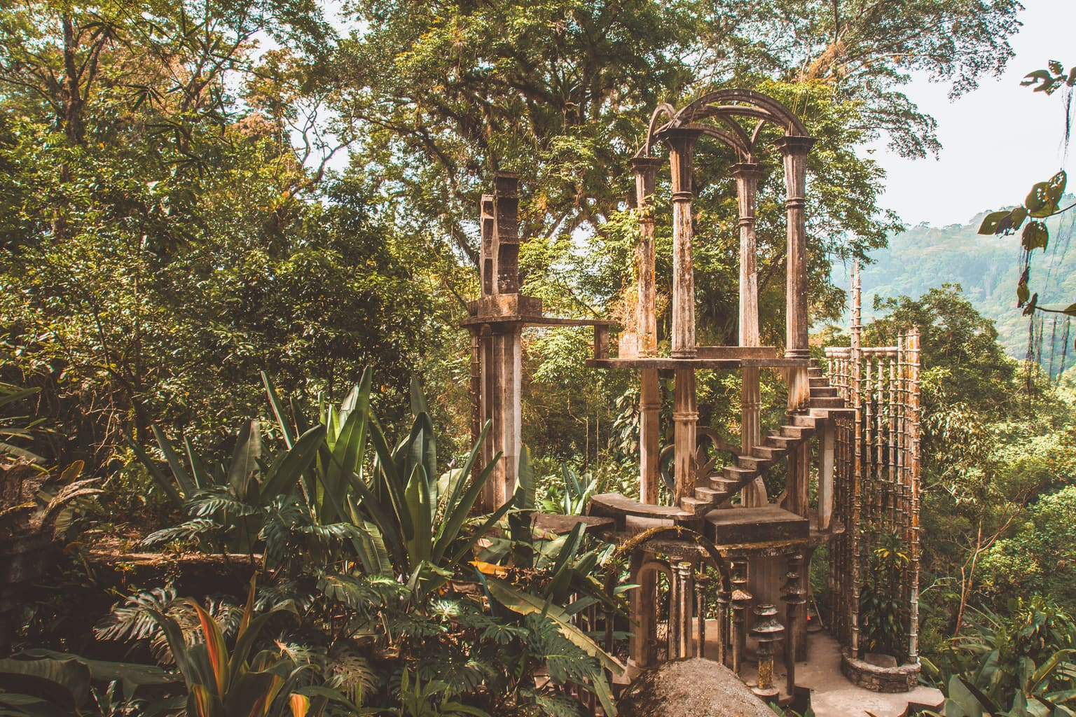Visiting Las Pozas: Surrealist Garden in Mexico | Once Upon A Journey