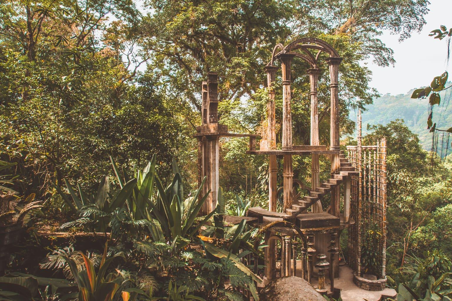 Bamboo Palace, las pozas edward james, las pozas edward james, las pozas, visiting las pozas, surrealist garden, surrealist jungle, huasteca potosina, xilitla, xilitla san luis potosí, surreal garden mexico