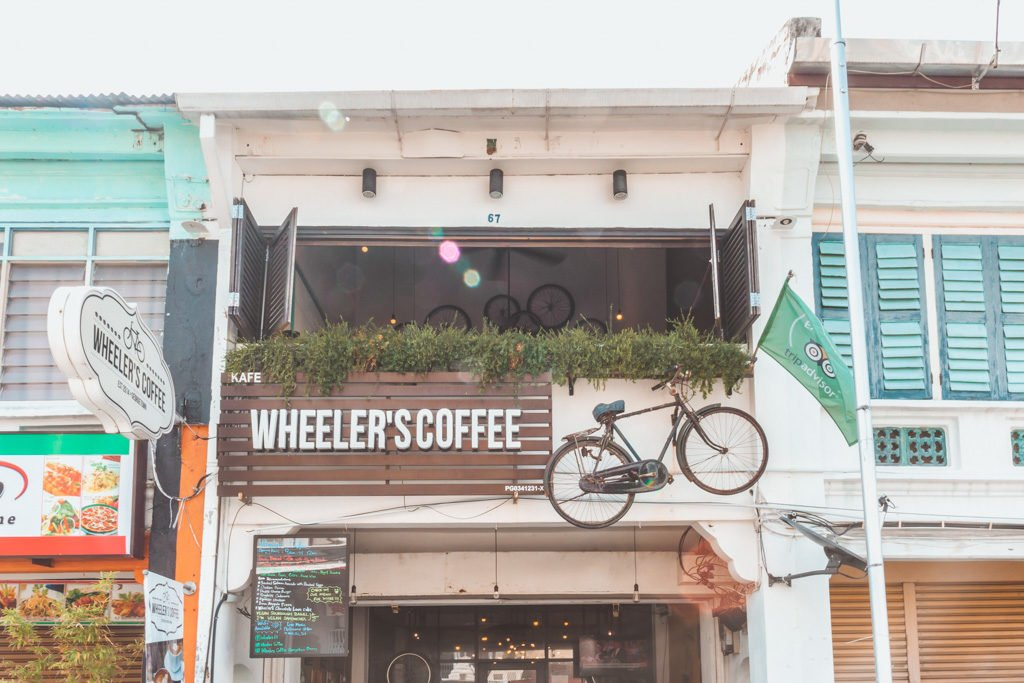 Wheeler's Coffee Penang, coffee georgetown penang, cafe georgetown penang, coffee shop georgetown penang, georgetown, penang, cappuccino georgetown