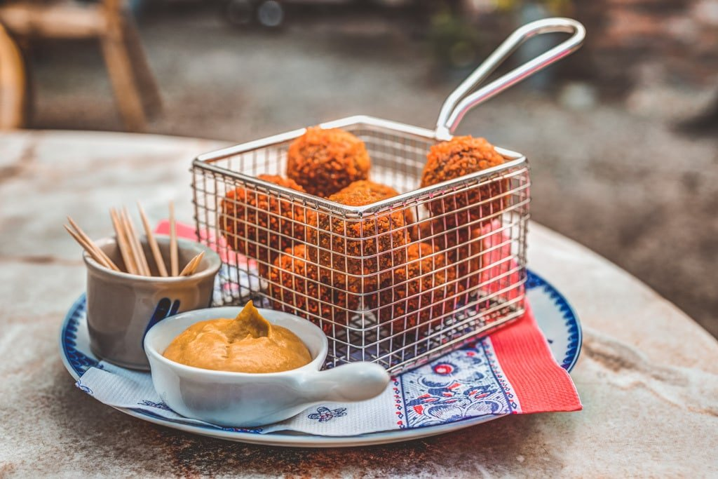 Top Dutch Food You Should Try (With Recipes) | Once Upon A Journey LGBT Travel Blog, bitterballen, kroket, boerenkool, dutch recipe, dutch food, dutch cuisine, photo by Peter Heeling