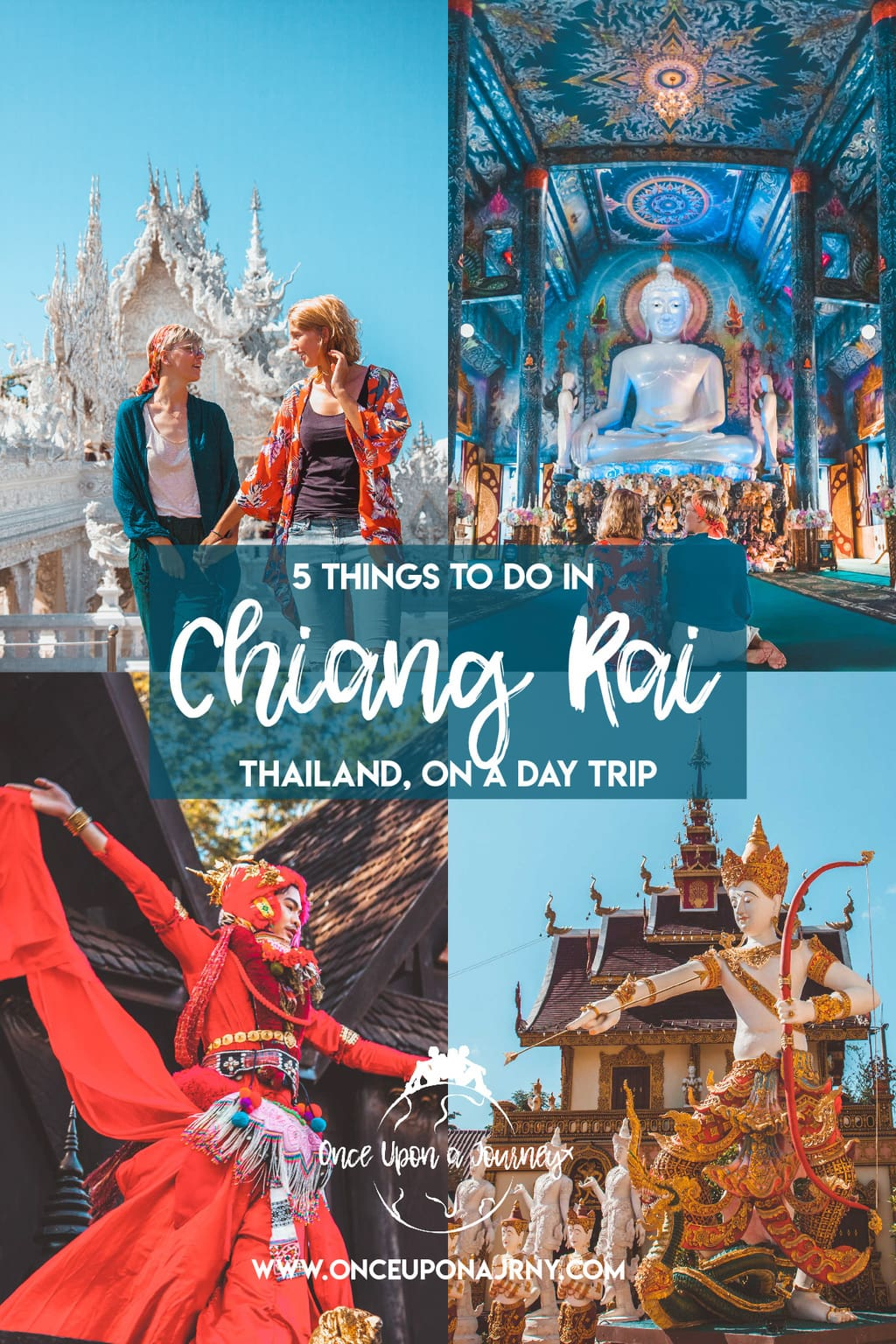 5 Things to Do in Chiang Rai on a Day Trip | Once Upon A Journey - LGBT Travel Blog #chiangrai #chiangmai #thailand #temple #travel