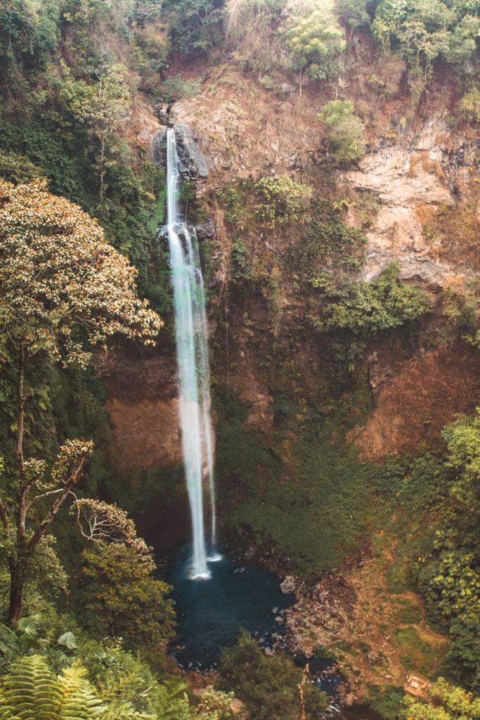 Curug Cimahi Rainbow Waterfall, Bandung, Indonesia