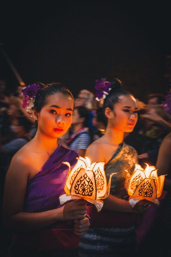 Chiang Mai Lantern Festival Parade