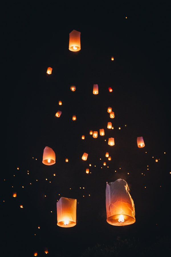 Chiang Mai lantern festival Thailand