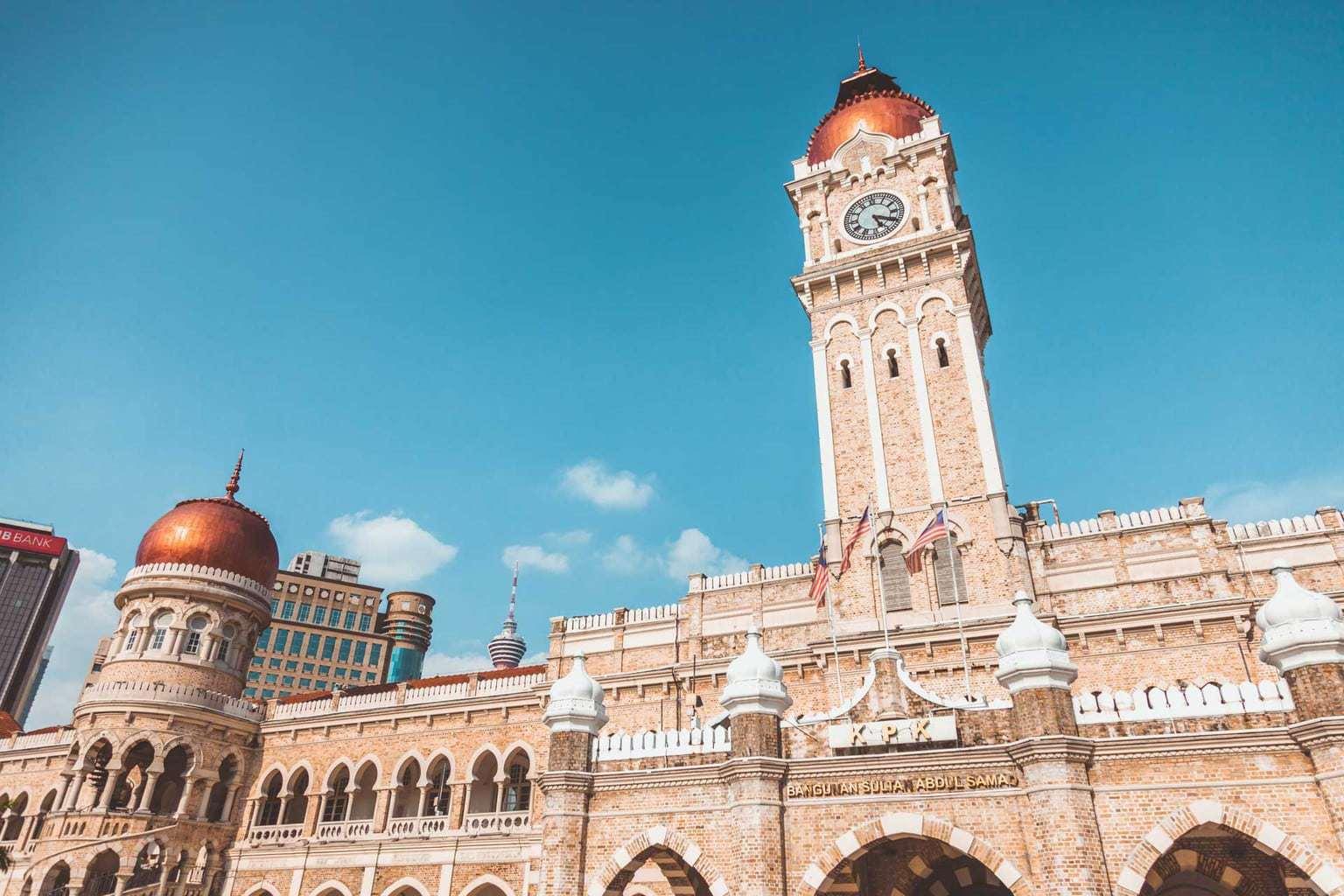 Merdeka Square, Sultan Abdul Samad Building, Kuala Lumpur