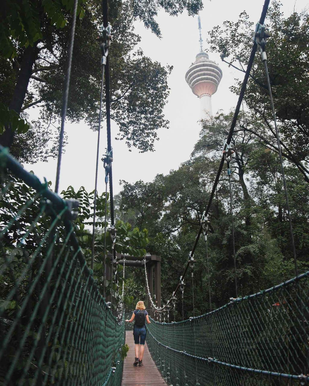KL Eco Forest Park, Kuala Lumpur, KL Tower