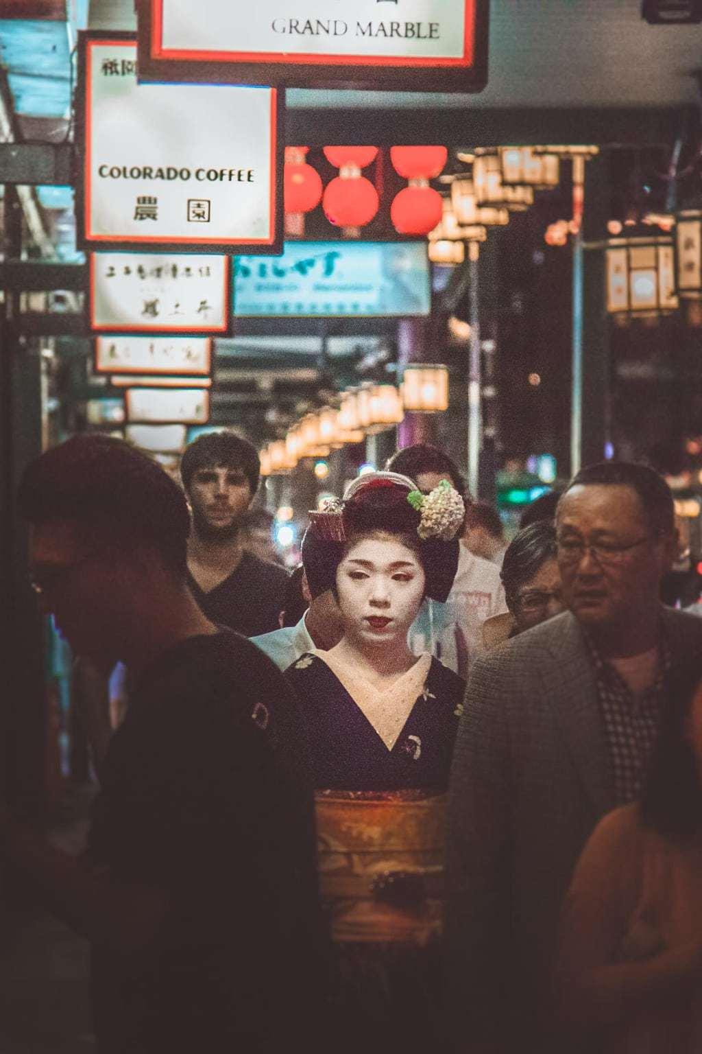 Geisha, Gion, Kyoto, Lesbian Japan