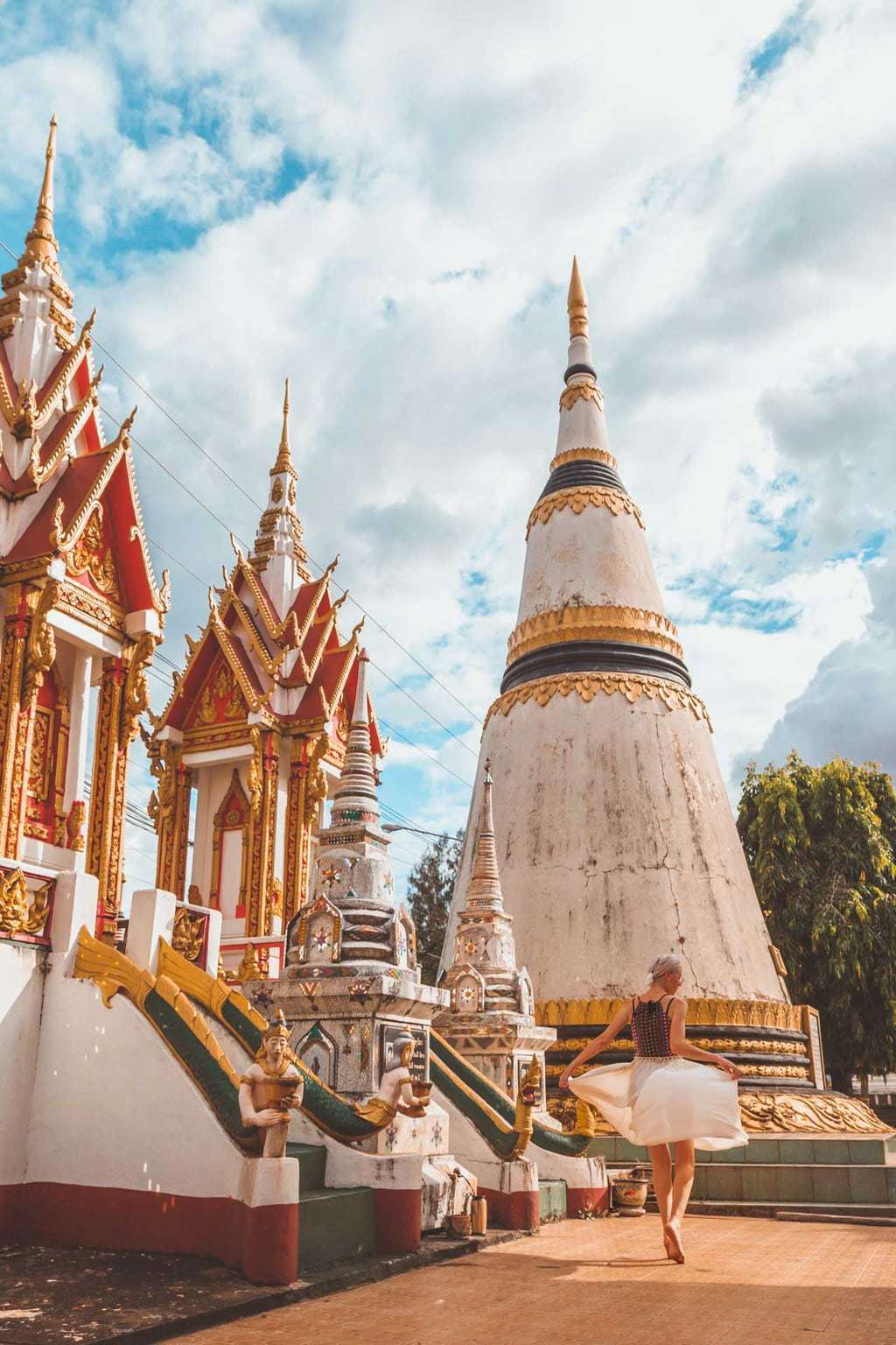 Wat Luang, Temple, Pakse, Southern Laos