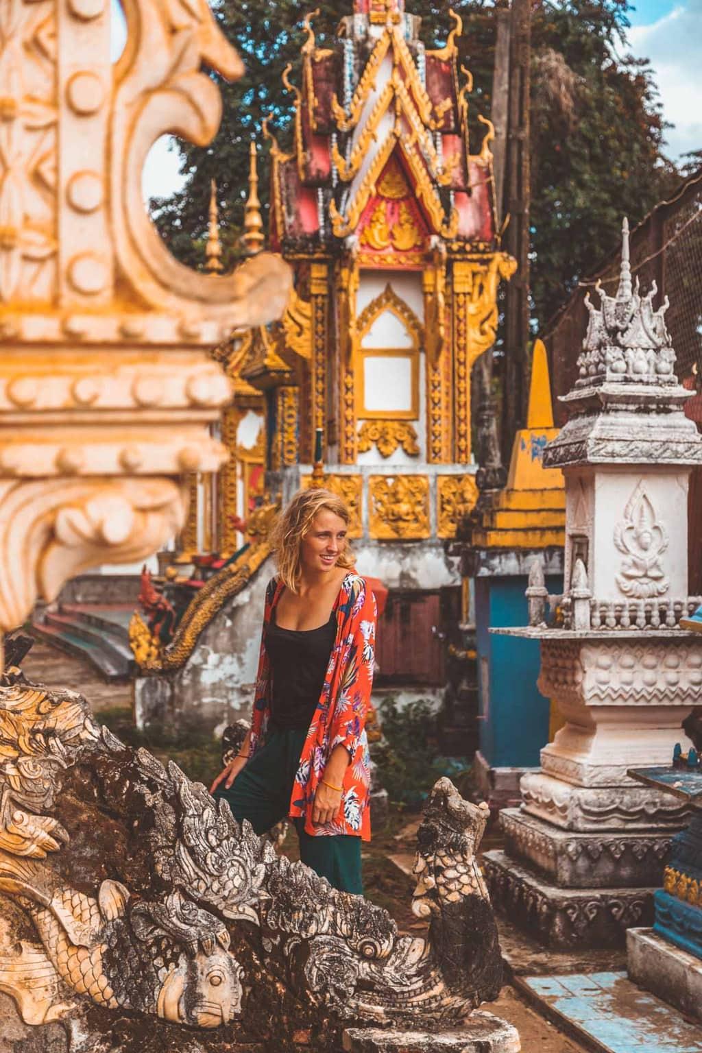 Wat Luang, Pakse, Southern Laos