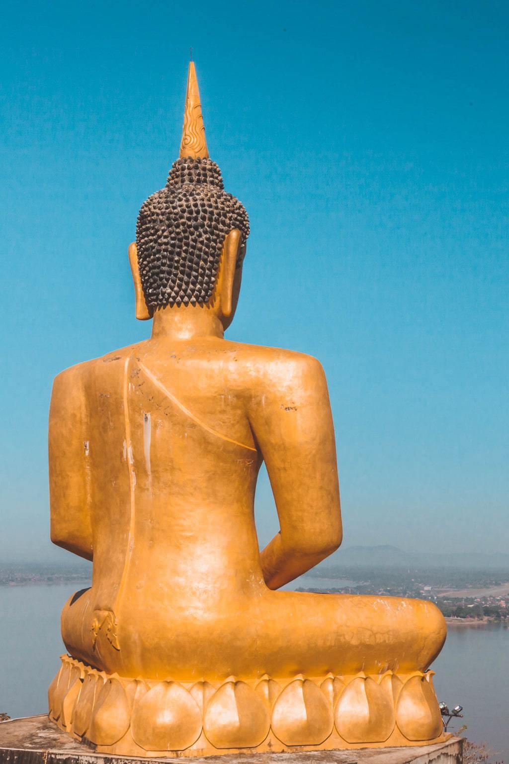 Wat Phou Salao aka Golden Buddha, Pakse, Southern Laos