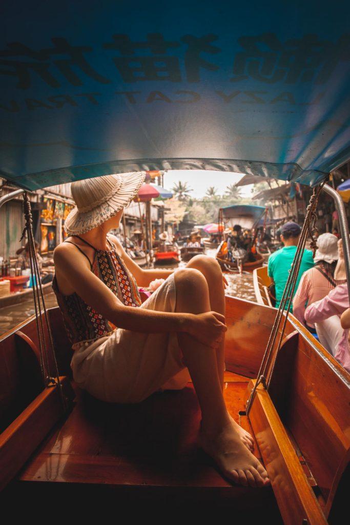 Damnoen Saduak Floating Market, Instagram Bangkok