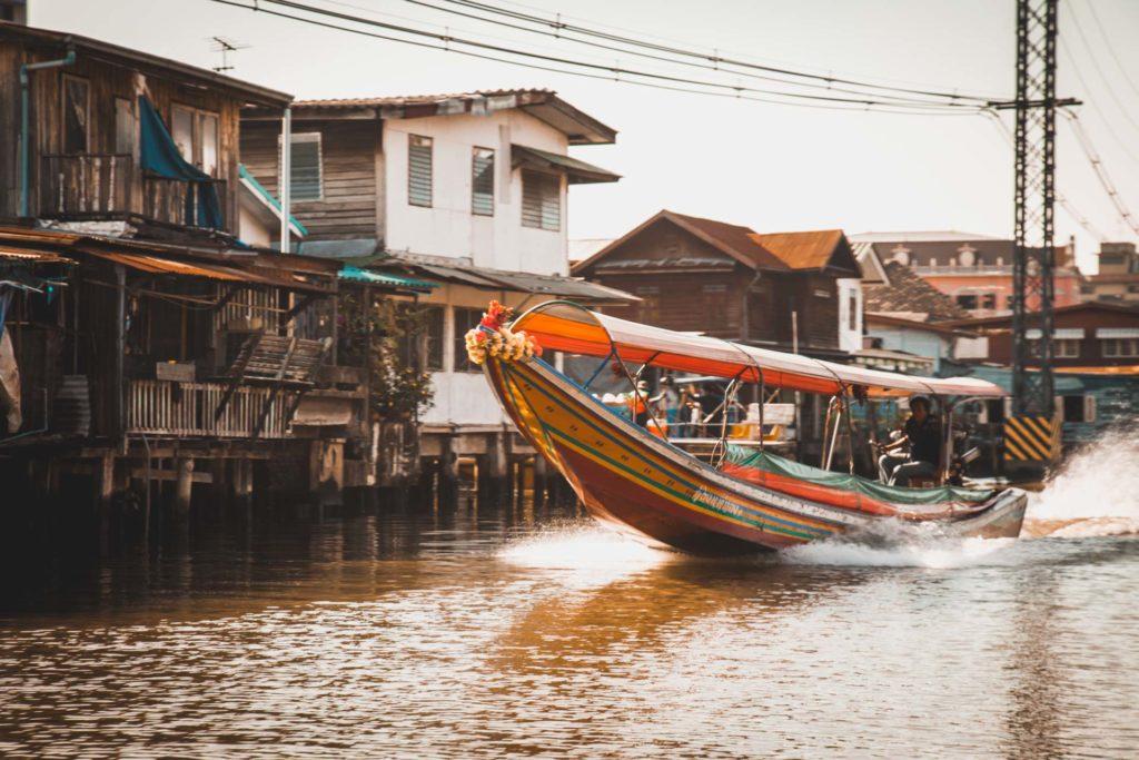 Khlong Saen Saeb, Chao Phraya River, Water Taxi, Boat Taxi, Bangkok