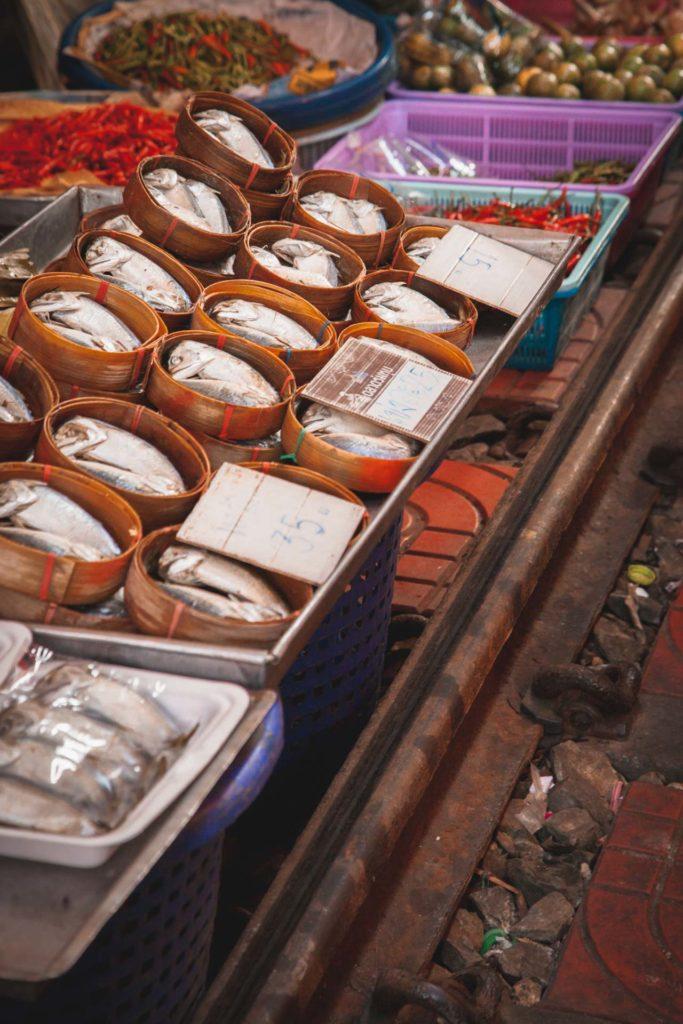 Mae Klong Railway Market, Instagram Bangkok