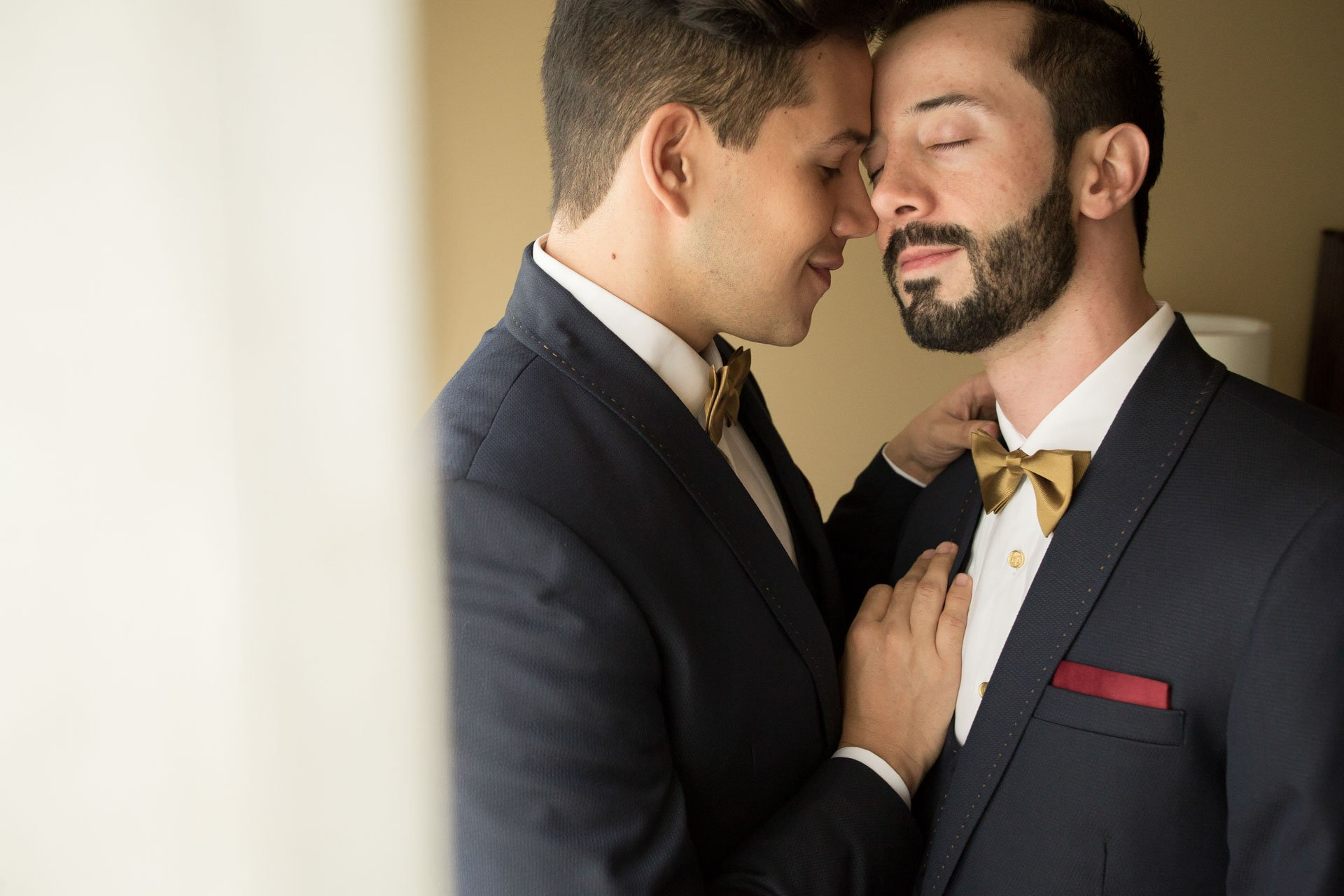 Married Colombian gay couple Jose and Camilo @ourdailylivesg