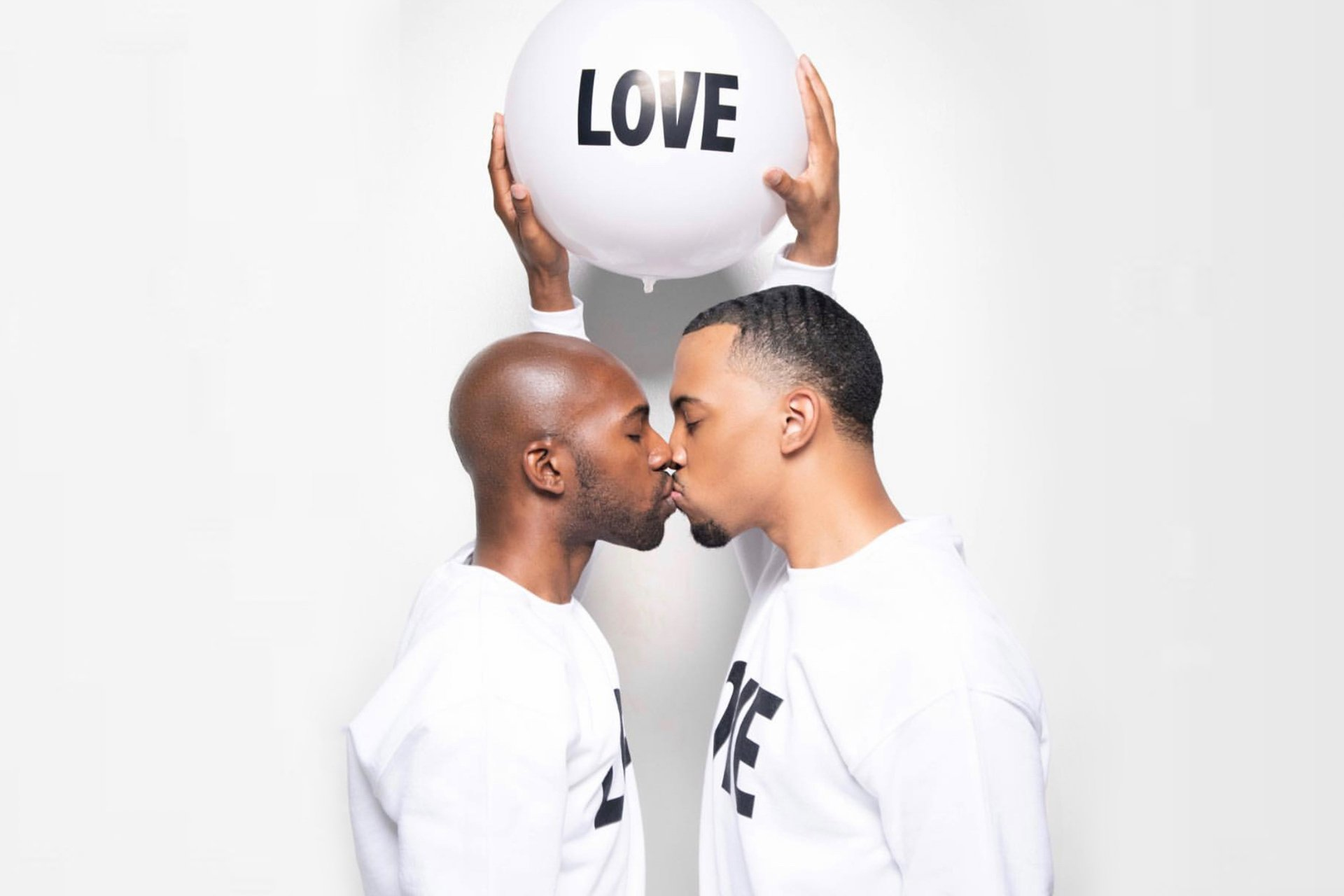 Married black gay couple Terrell and Jarius @terrell.and.jarius
