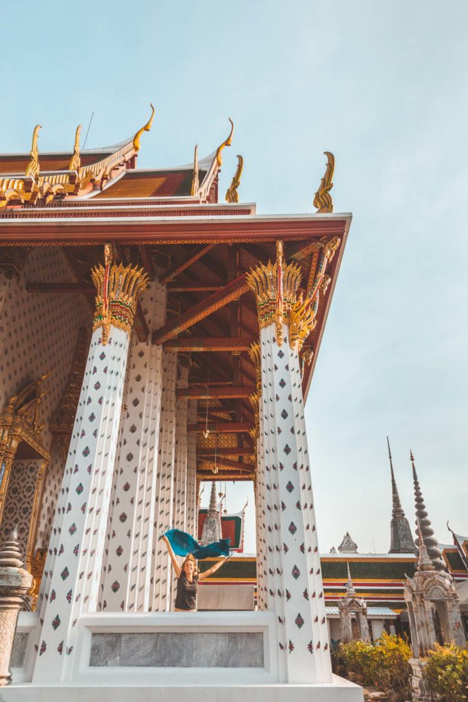 Wat Arun, White Temple, Thonburi, Bangkok