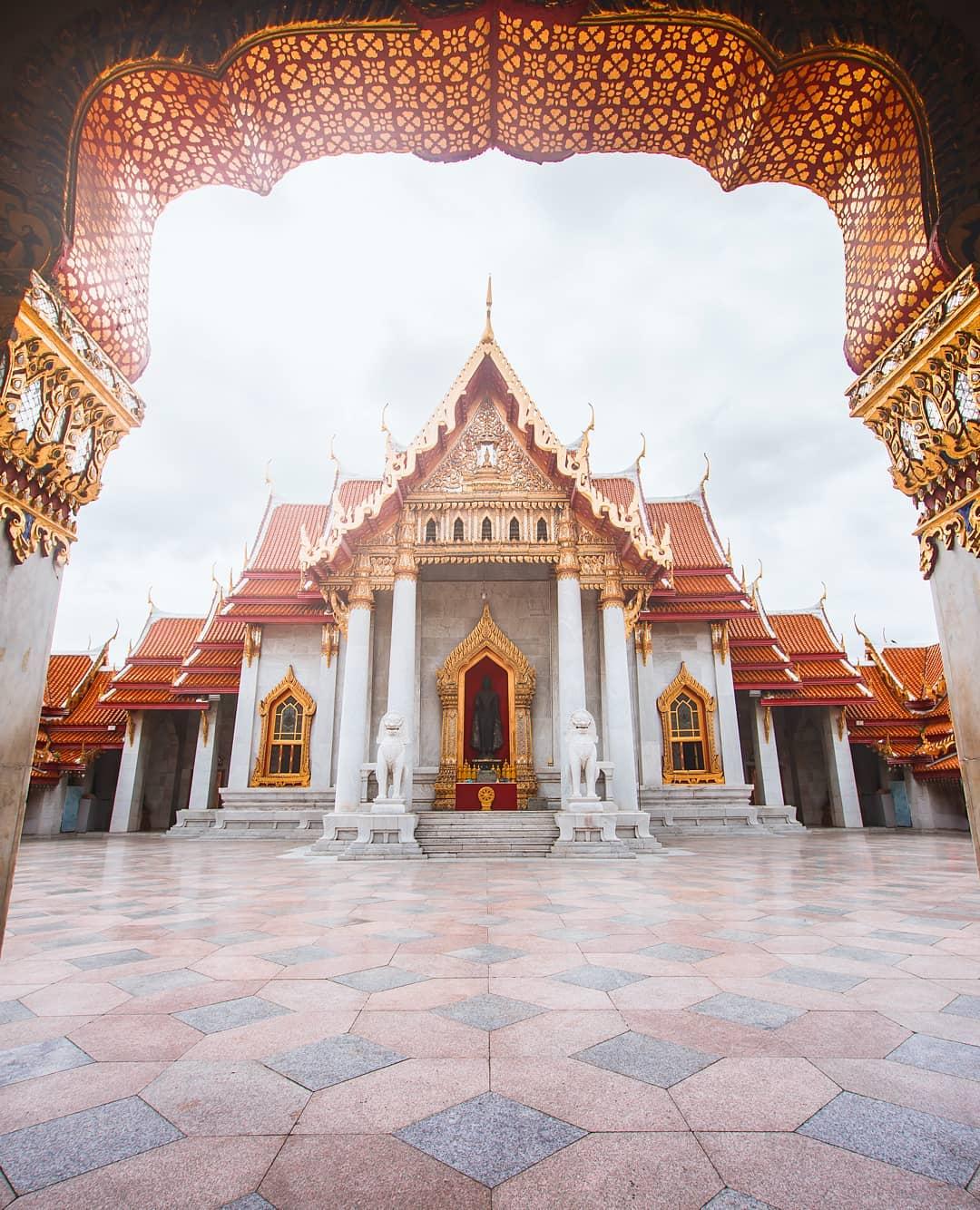 Wat Benchamabophit, instagram Bangkok, by Sukrit Srisakulchawla
