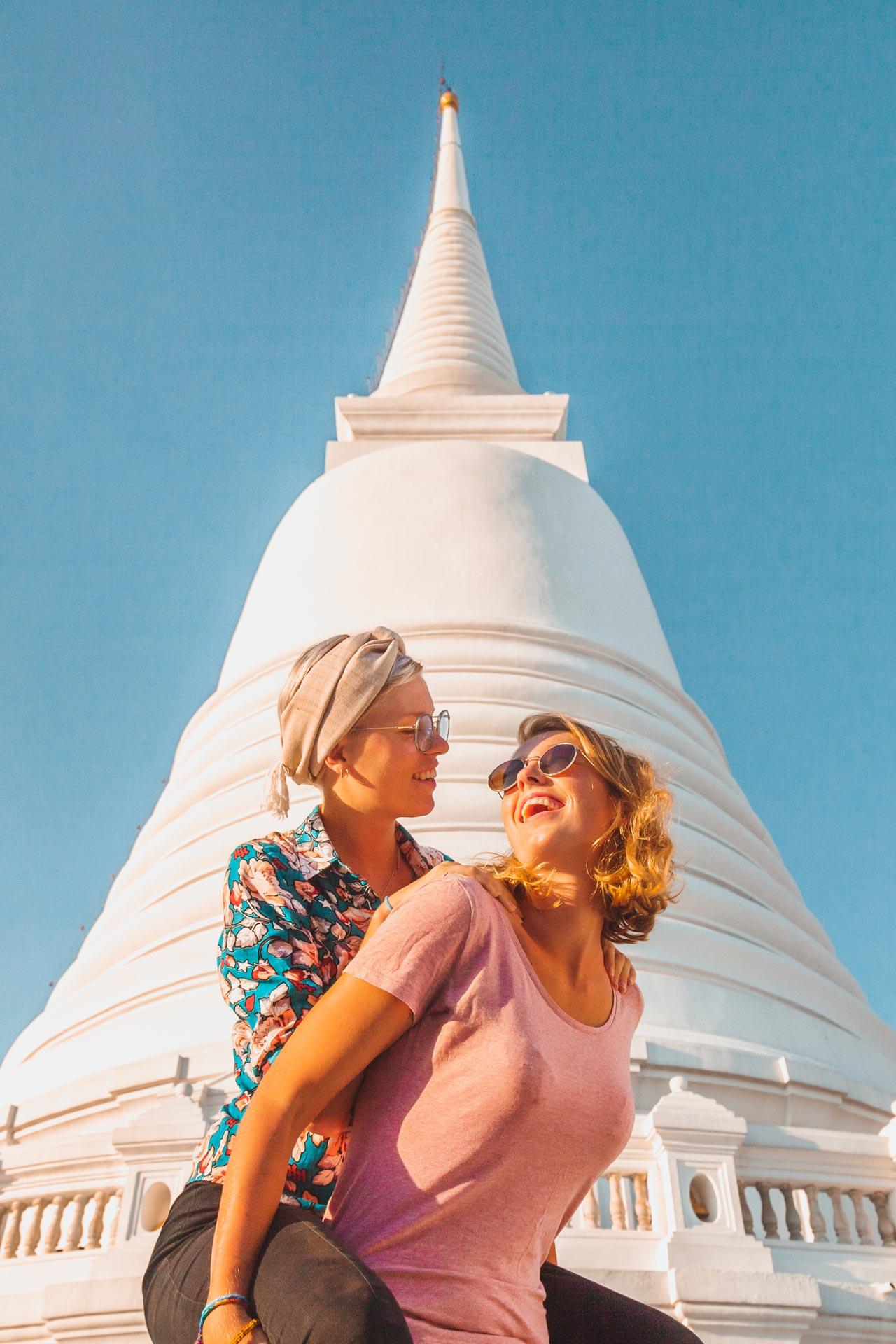 Wat Prayoon, Wat Prayunwongsawat, Thonburi, Temple, Bangkok