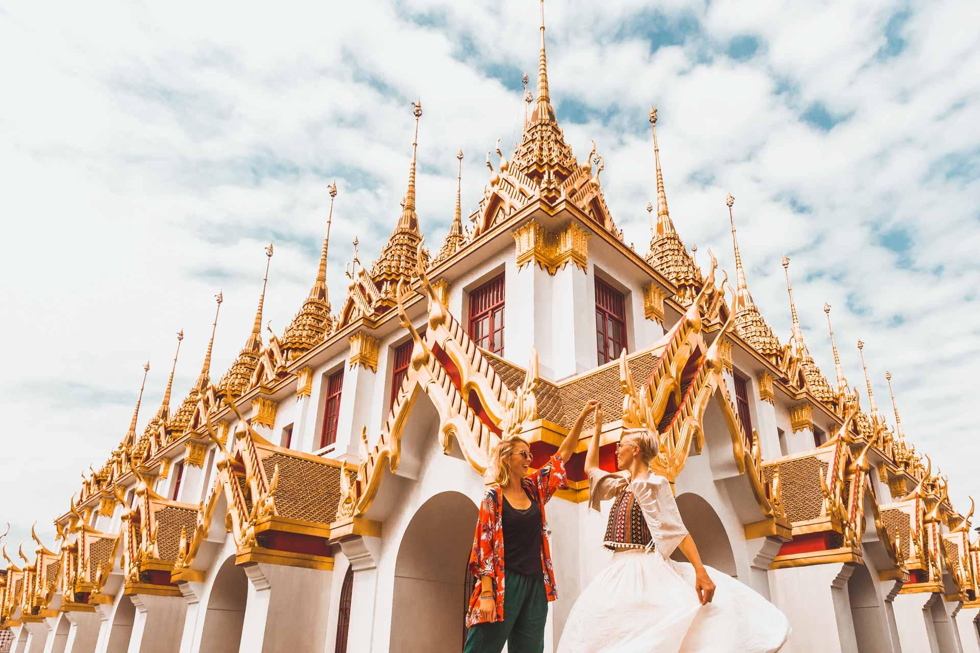 Wat Ratchanatdaram, Loha Prasat, Temple Bangkok