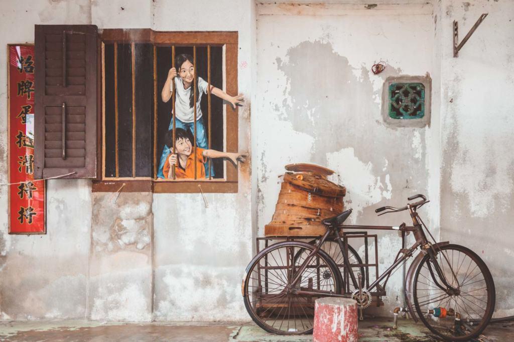 I want Bao, I want Pau by WK Setor, Penang Street Art, Armenian Street, Georgetown