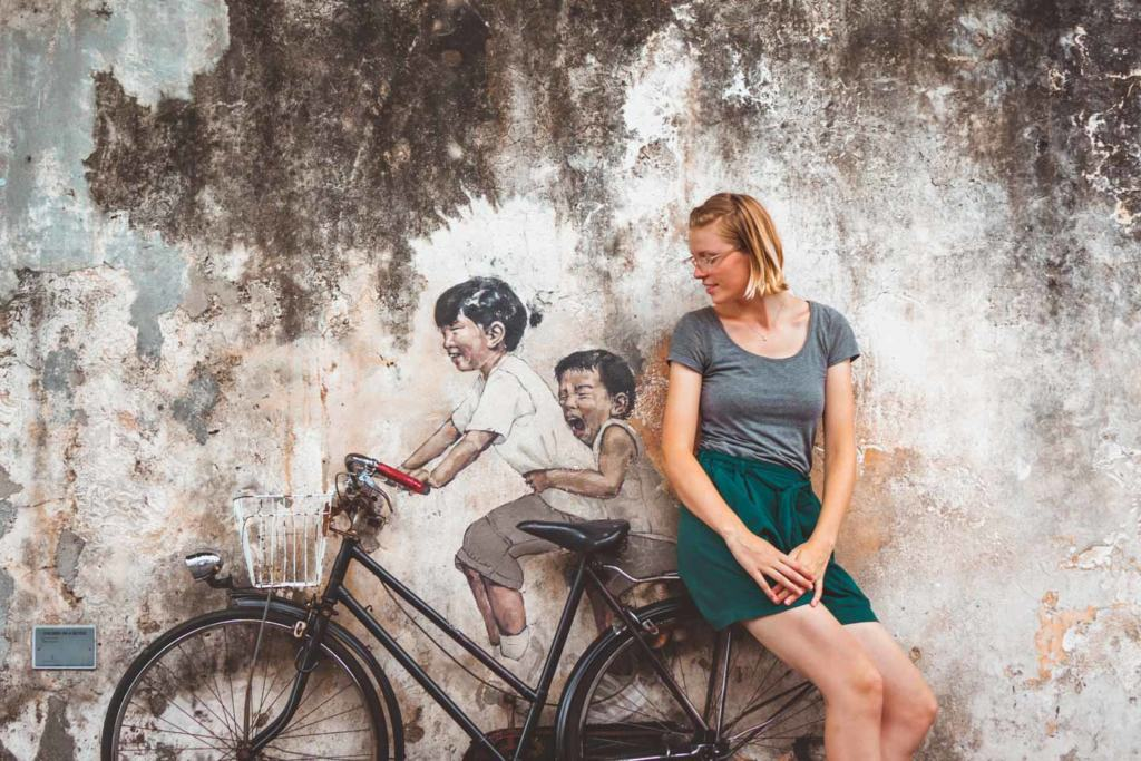 Where to Find The Best Penang Street Art (With Map!)