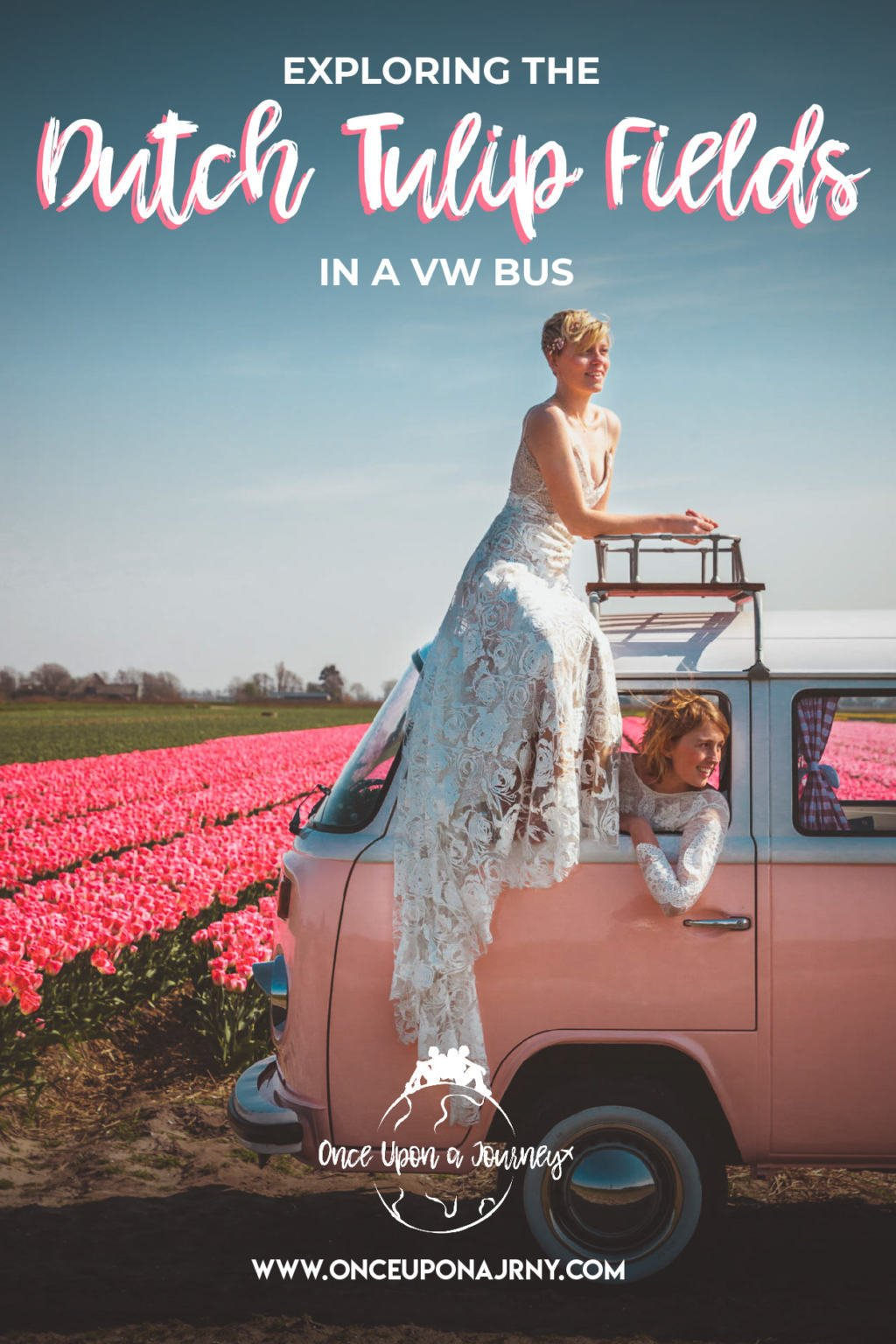 Exploring the Tulip Fields in the Netherlands in a VW Bus | Once Upon A Journey LGBT Travel Blog