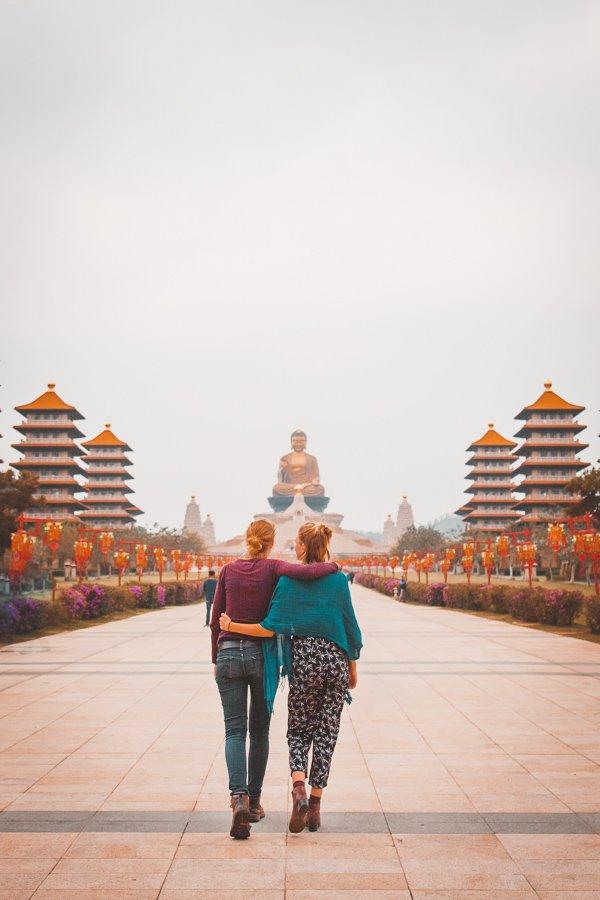 Lesbian Taiwan, travel couple, Khaosiung