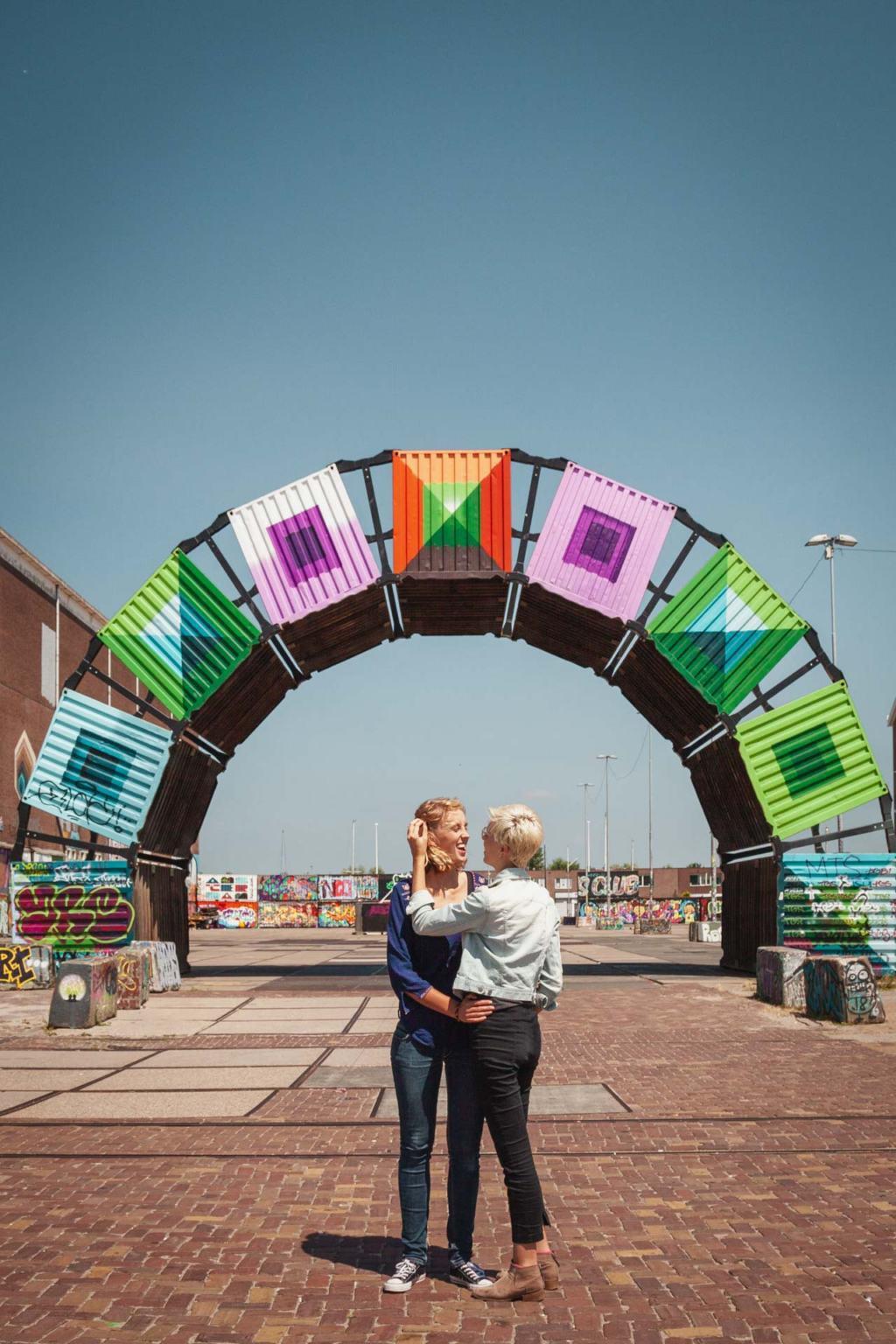 NDSM werf, industrial Amsterdam Noord