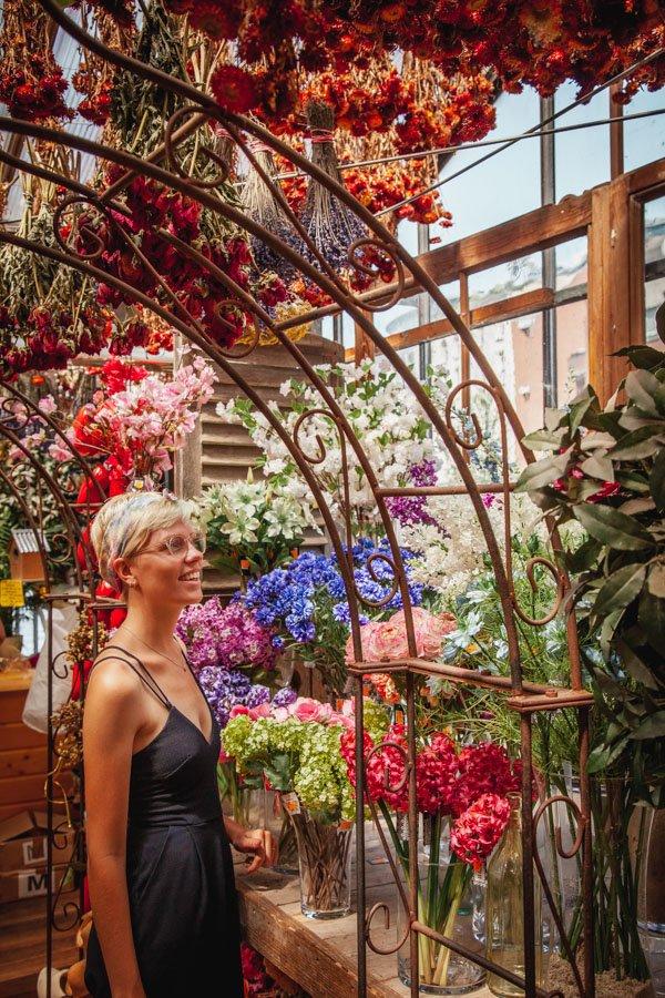 Amsterdam Floating Flower Market, bloemenmarkt