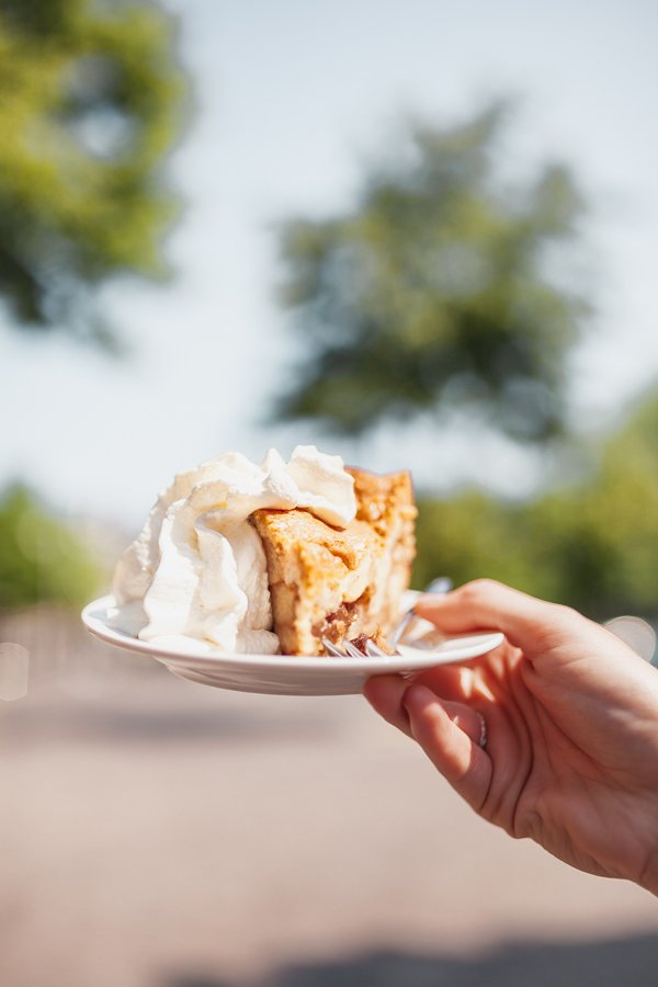 Amsterdam, traditional Dutch apple pie, Winkel 43