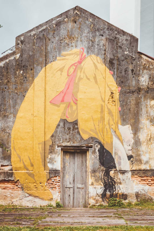 Art is Rubbish, Backbend Girl, Ernest Zacharevic