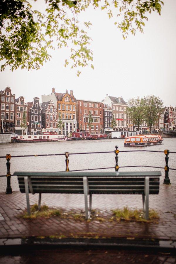 Groenburgwal bench, Staalmeestersbrug, Amsterdam