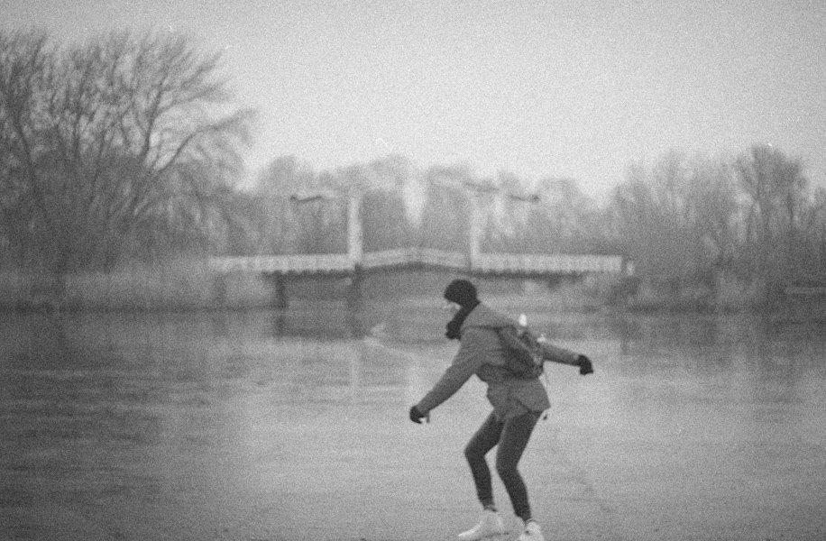 Ice Skating, Amsterdamse Bos, Netherlands