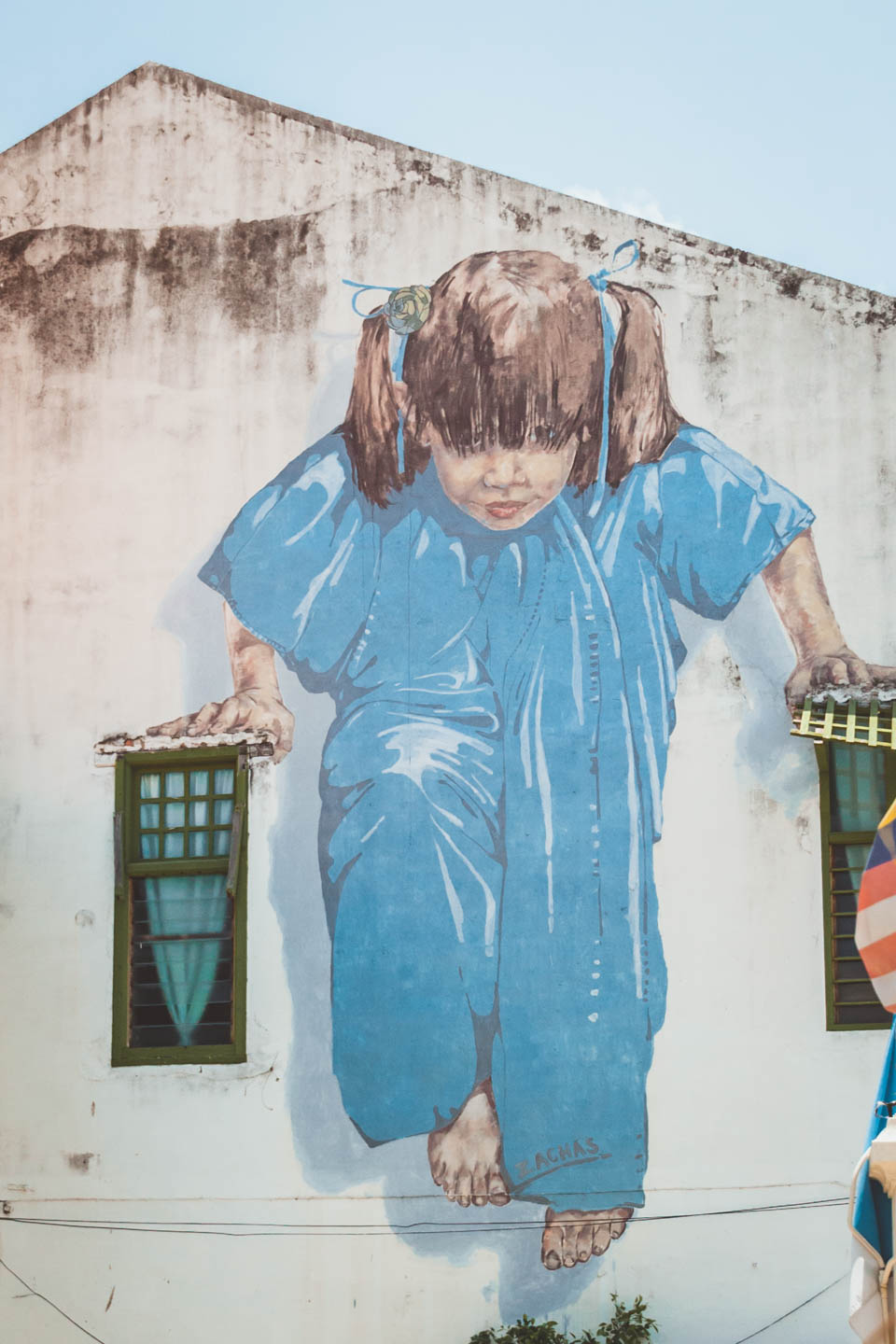 Kung Fu Girl, Little Girl in Blue, Ernest Zacharevic