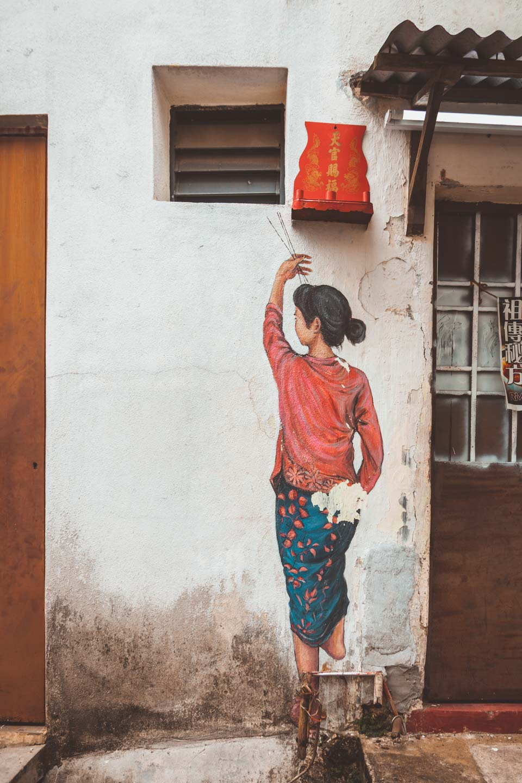 Lebuh Armenian, Penang Street Art, Malaysia