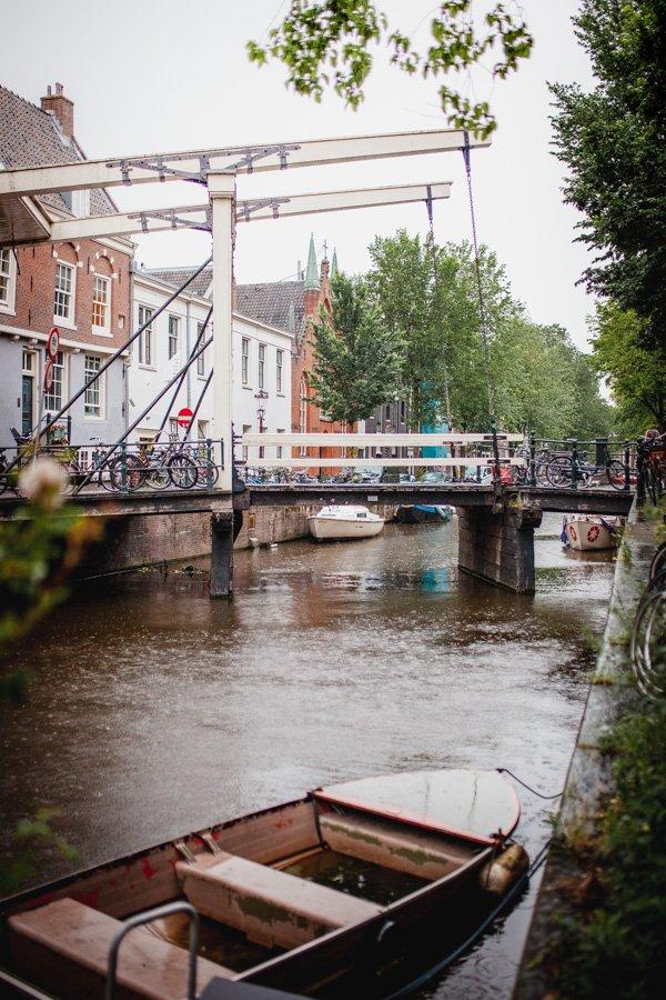 Staalmeestersbrug, Amsterdam Canal