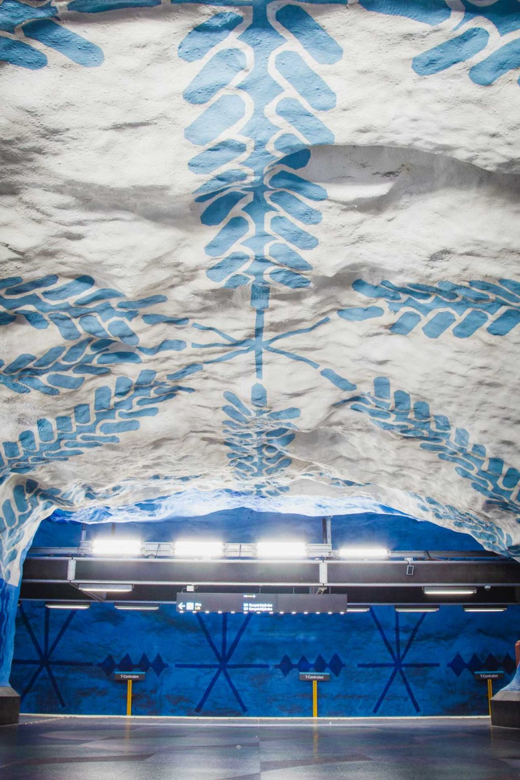 Stockholm Metro Art, T-bana, T-Centralen station