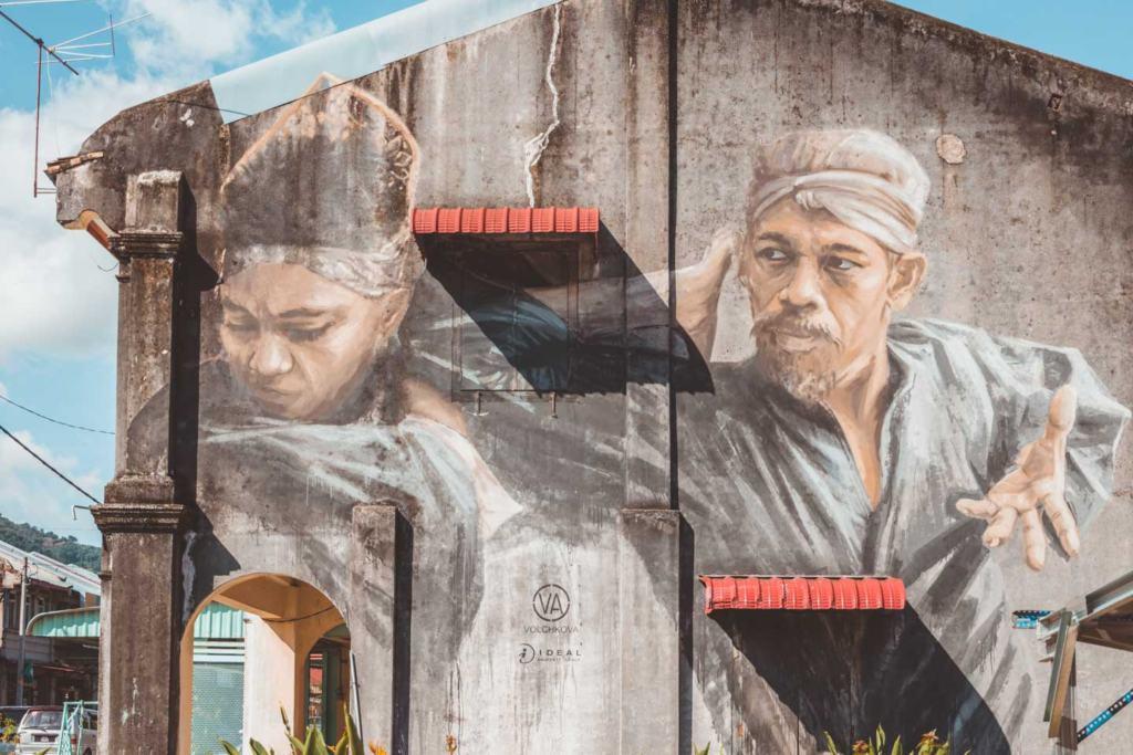 The Silat Master, Balik Pulau, Penang Street Art, Julia Volchkova