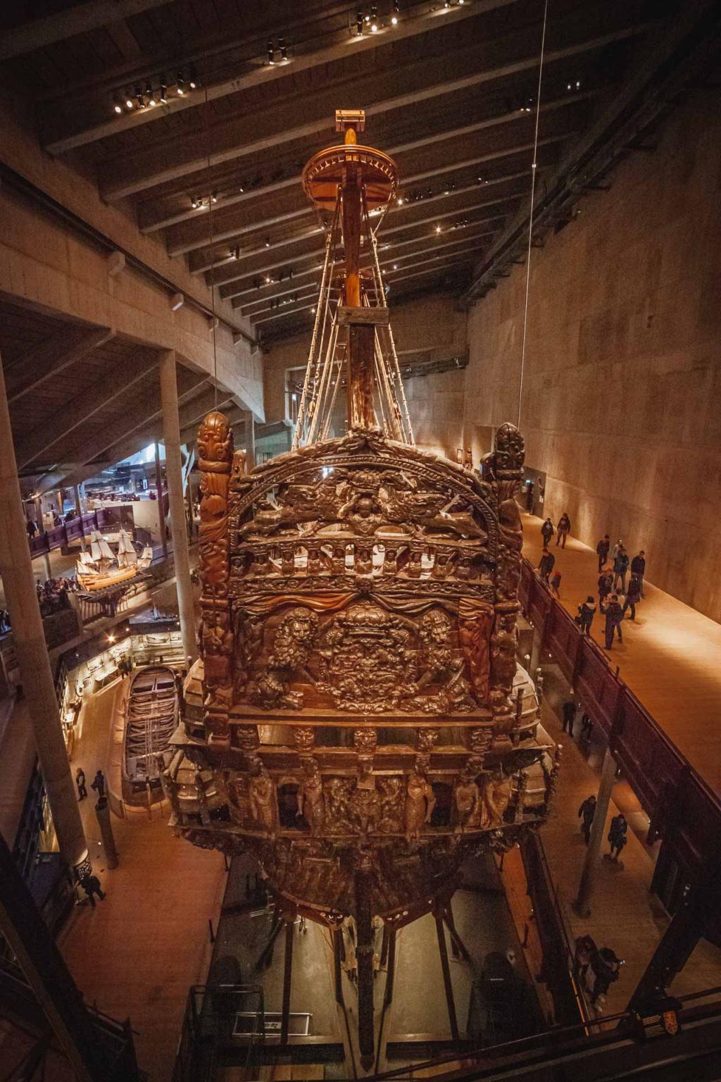 Vasamuseet, Vasa Museum, Djurgården, Stockholm