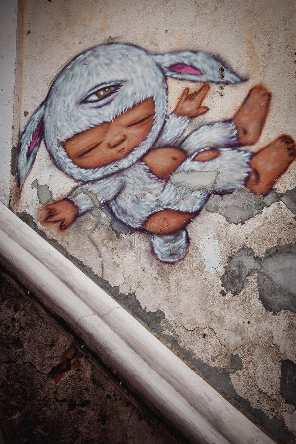 Nagore Square Murals, Urban Xchange Crossing Over, Penang Street Art, Alex Face