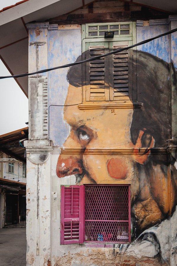 Nagore Square Murals, Urban Xchange, Penang Street Art