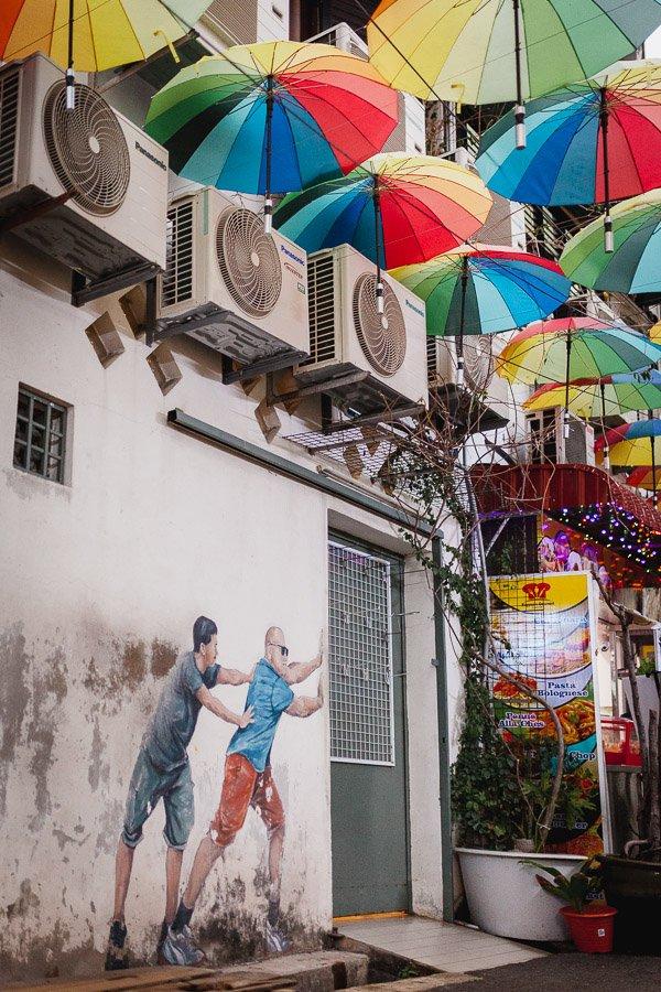Penang Street Art, Georgetown