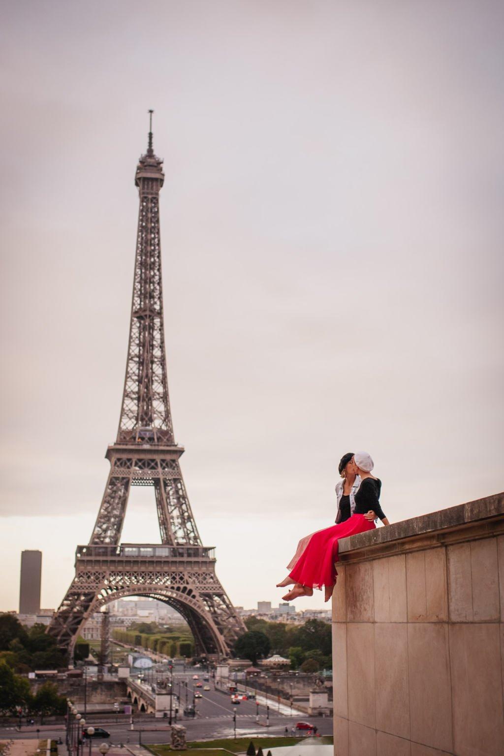Esplanada de Trocadero Paris, Eiffel Tower