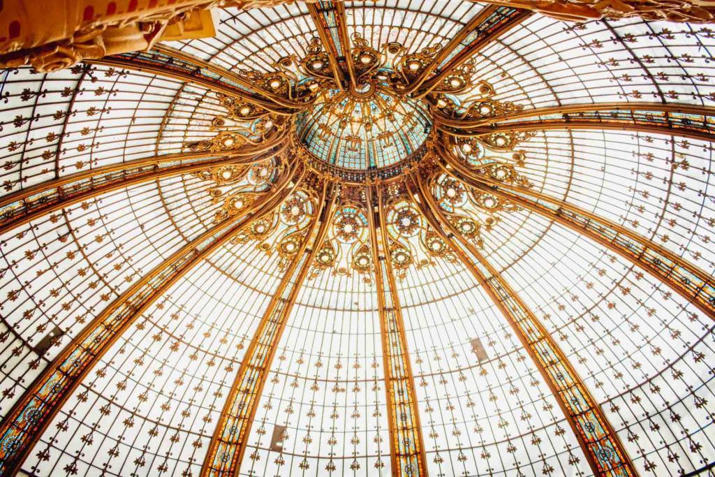 Galeries Lafayette ceiling