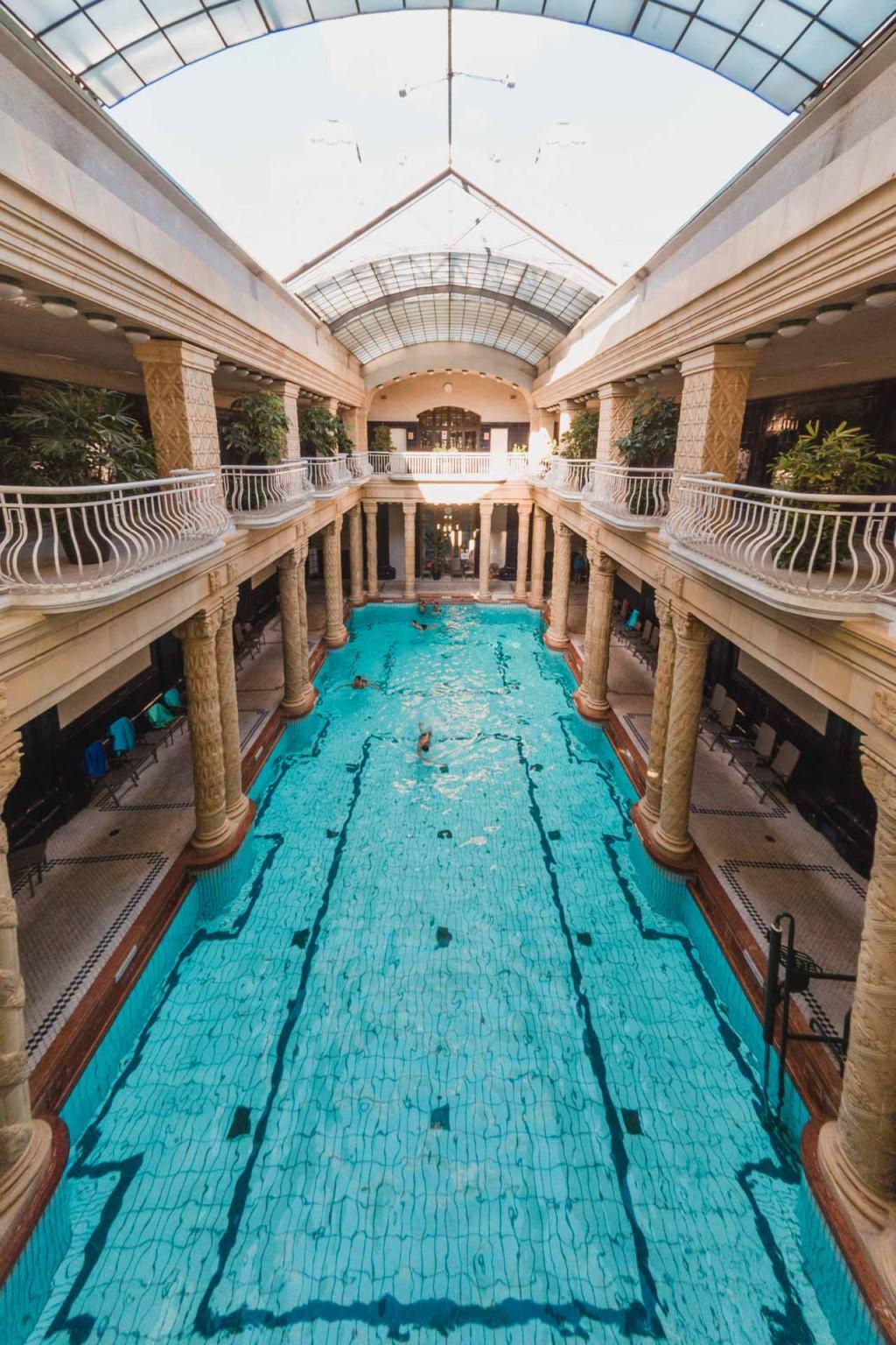 Géllert Baths, Thermal Bath, Budapest, Hungary